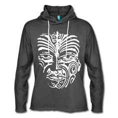 Maori Face Tattoo, Unisex, Kite, Planets, Sweatshirt, Hoodies, Sweaters, Design, Fashion