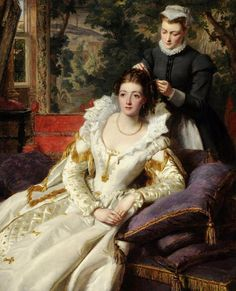 Preparing for the Ball by French Painter Louis Humbert 1862-1921- Google Search