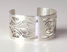 Antique Sterling Napkin Ring Cuff KLD