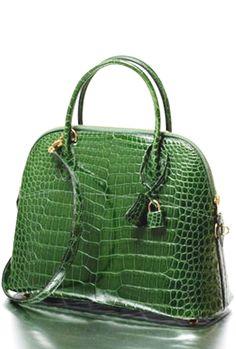 db746cb3c1805 Green Crocodile Bag leather  purses and  handbags