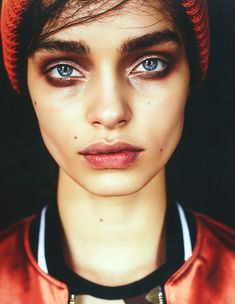 Luma Grothe,… Photographed by Billy Kidd for Grey Magazine