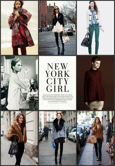 girls around the city . . .  my style inspiration