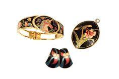 A Lot Vintage 80s Bracelet Magical UNICORN enamel by boboCOLLECTED | VINTAGE JEWELRY | Pinterest | Magical unicorn