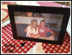 Cute idea for a valentines day party.. Each couple brings a picture from when they were dating