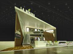Exhibition Design: LA MIRADA BOOTH @ Cityscape Cairo on Behance