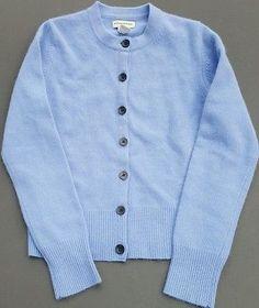 Banana Republic Caardigan Sweater Lilac Lavender Purple Lambs Wool Angora Size M