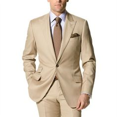 Personalized to your unique style preferences, each piece is handcrafted in our renowned European factory. Mens Fashion Suits, Mens Suits, Men's Fashion, Tailor Made Suits, Men Style Tips, Male Style, Brown Suits, Summer Suits, Sharp Dressed Man