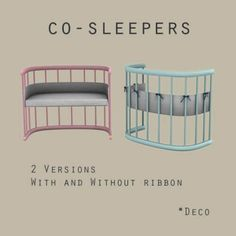 Leo Sims - Co-sleepers for The Sims 4