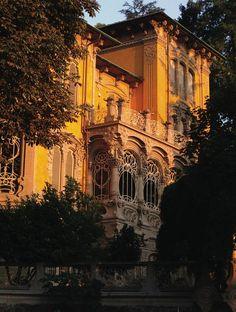 Art Nouveau inTorino, Corso Giovanni Lanza, Palazzina Scott von Pietro Fenoglio (Villa Scott by Pietro Fenoglio)