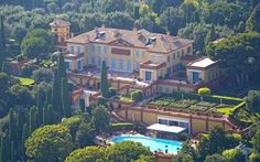 2nd most expensive home in the world - Villa Leopolda in the French Riviera. The home was originally built in 1902 by King Leopold II, for who the villa is named after.The house is an architectural masterpiece and is the most expensive villa in the world.The real value in the property is the 20 acres of land covered in 1200 orange, cypress, lemon, and olive trees.