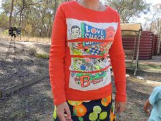 A Vintage Crafty Adventure: Rescue an old favorite Tshirt