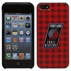 Portland Trail Blazers iPhone 5 Snap-On Case - Red