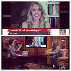 Cassidy Gard Chats with Tom Shadyac on Huffington Post Live