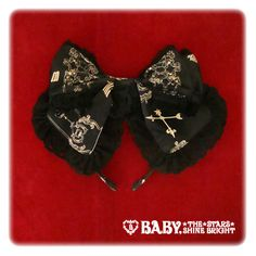 Alice and the Pirates The Secret Between Alice and the Clock Tower Ribbon Head Bow