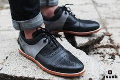fbce2999e2d Heren schoenen · Funky men's brogues Jurk Met Sneakers, Schoenen Sneakers,  Nette Schoenen, Herenschoenen, Balschoenen
