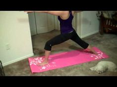 The Fitnessista; Yoga Inspired Work-out #letlifeflow  #soulflowercontest