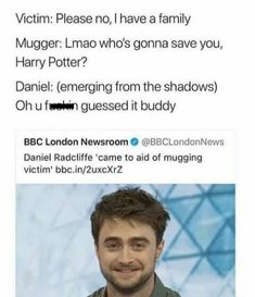 HARRY POTTER SAVES THE DAY