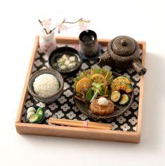 Mini Japanese meal by NuNu's House. 2016