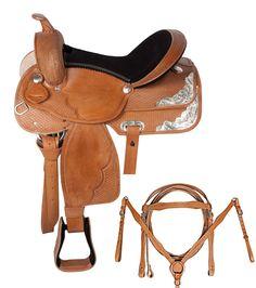 Western Pleasure Trail Show Horse Saddle 15 17