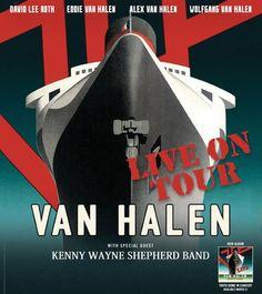 """METALINDIE.COM - Dalam perayaan musim panas/musim gugur 2015 Van Halen akan mengadakan tur konser khusus dengan tema """"Jimmy Kimmel Live!"""""""