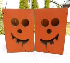 Halloween JackoLantern Candle Box Set/2 Vintage by MrFilthyRotten, $24.00