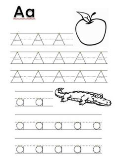 FREE - Alphabet Tracing and Vocabulary