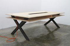 Work Table   02 Series   Miguel de la Garza