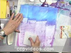 Acrylic Paint Pizzazz: Collage Techniques for Fabric & Paper with Sherrill Kahn