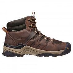 KEEN Men's Gypsum II Waterproof Hiking Boots - Clothing and footwear - Kaffee Mens Waterproof Hiking Boots, Mens Hiking Boots, Hiking Gear, Yellow Boots, Brown Boots, Men's Boots, Best Hiking Shoes, Men Coffee, Trail Shoes