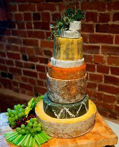 Cheese Stack Alternative Wedding Cake