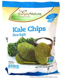 Sometimes Foodie: Sea Salt Kale Chips - Aldi