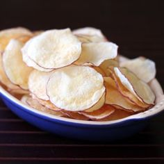 Easy Homemade Microwave Chips (Yes, MICROWAVE)