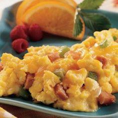 Ham & Vegetable Scrambled Eggs