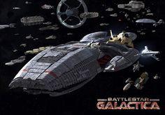 Battlestar Galactica - blogginlägg på JLFantasy.se
