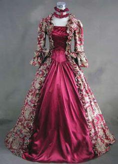 vestidos antiguos para 15 años