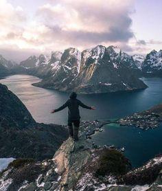 Lets go hiking Lofoten Islands Norway | ... | #adventure #travel #wanderlust #nature #photography
