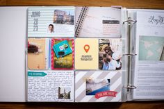 PL Pages June 2013 - through by amylard at Studio Calico, Project Life, June, Learning, Projects, Travel, Ideas, Log Projects, Blue Prints