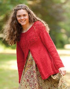 Patchouli by Susan Mills - love this cardi
