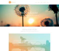 Bloom Free #Responsive #HTML5 #CSS3 #Mobileweb Template