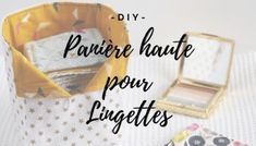 {DIY} Washable wipes and basket - La Casa Cactus Cactus 2, Diy Makeup, Basket, Design Inspiration, Place Card Holders, Handmade, Lingerie, Ranger, Vide Poche
