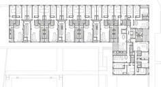 Winning Contest Proposal for 70 housing units in Yebes (Guadalajara) - floor plan - by SI Architects