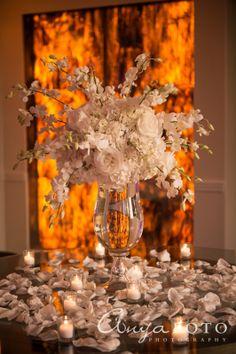 Wedding Center Pieces anyafoto.com #wedding, wedding reception, wedding reception center pieces, wedding reception ideas, flower wedding center pieces, white wedding center pieces, rose wedding center pieces