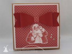 Stampin Up Weihnachten Ornament Keepsakes Santa Geschenkbox Alphabet 05