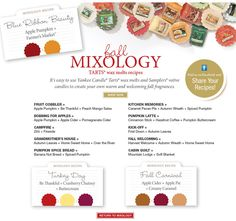 Yankee Candle Mixology | Yankee Candle Obsession | Pinterest ...