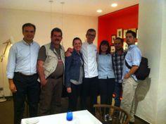 @Vlc Daniel @MaximoVLC: Prensa de #lujo de México con Steve Anderson. Una gran velada en  @Rest_Seuxerea