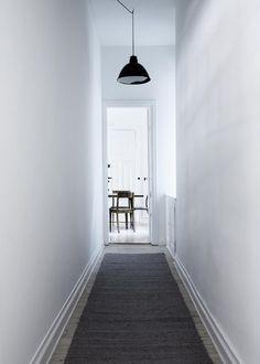 my scandinavian home - grey carpet white walls