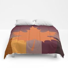 Fall Colour Comforters by vanid Patterned Furniture, Sweet Sweet, Twin Xl, King Queen, Comforters, Bedding, Sleep, Cold, Warm