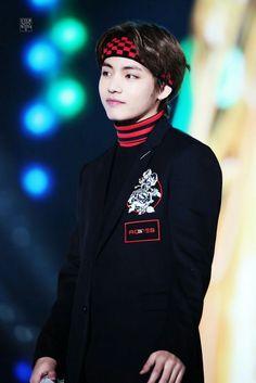 180125    #BTS 27th Seoul Music awards #V