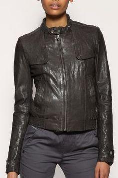 Billy Austins - Womens Khaki Graphite Leather Jacket, $205.72 (http://www.billyaustins.com/womens-khaki-graphite-leather-jacket/)