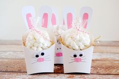 eighteen25: Fry Box Bunny - Easter Treat Containers